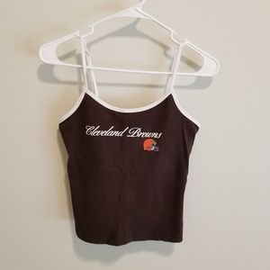 Cleveland browns tank top